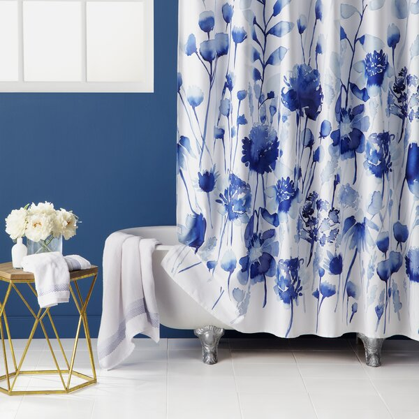 Corran 100 % Cotton Shower Curtain by bluebellgray
